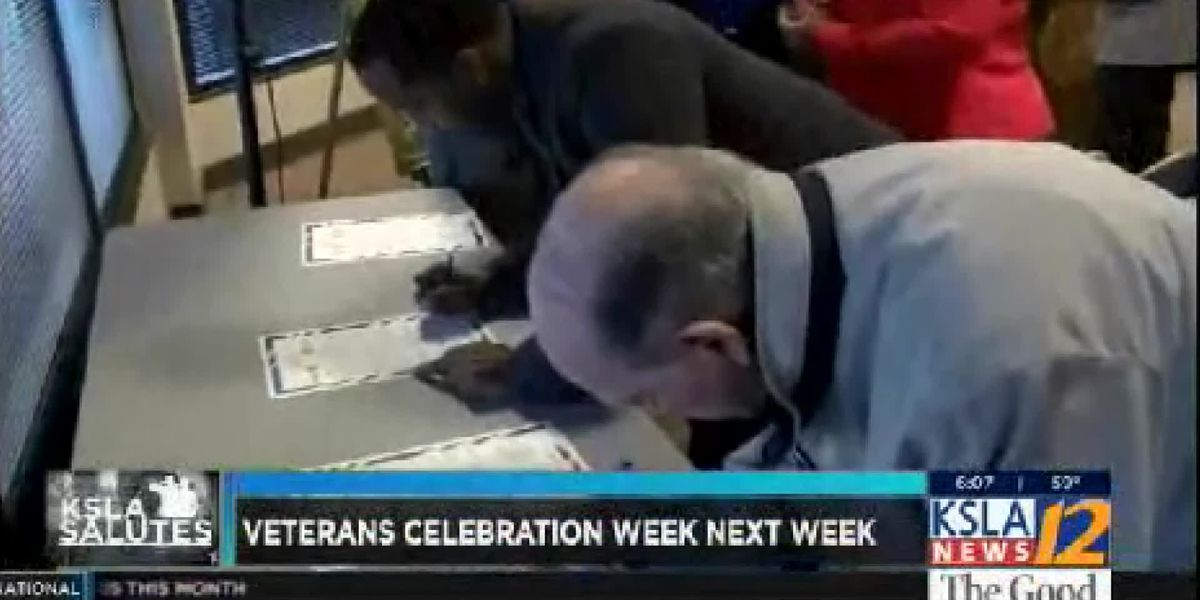 Veterans Celebration Week-Signing of Joint Proclamation