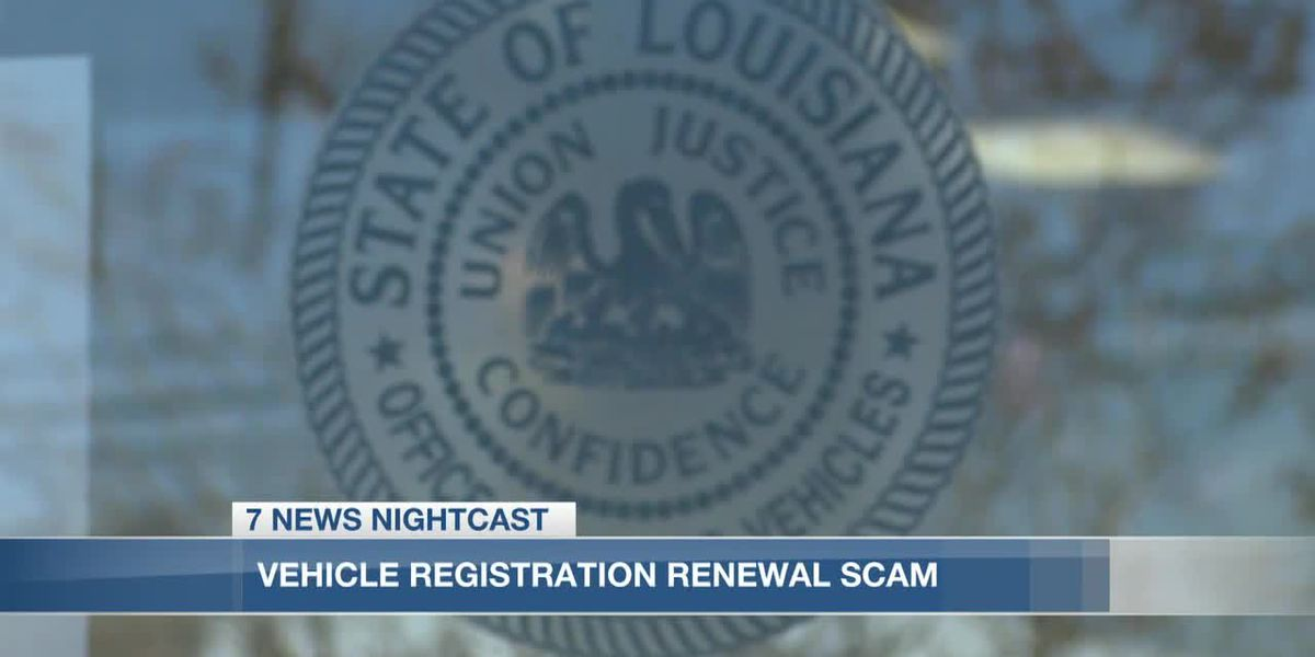 Louisiana Office of Motor Vehicles warns customers about imposter websites