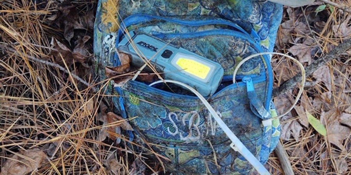 Mystery solved: Bossier authorities now know more about backpack, bicycle found in woods
