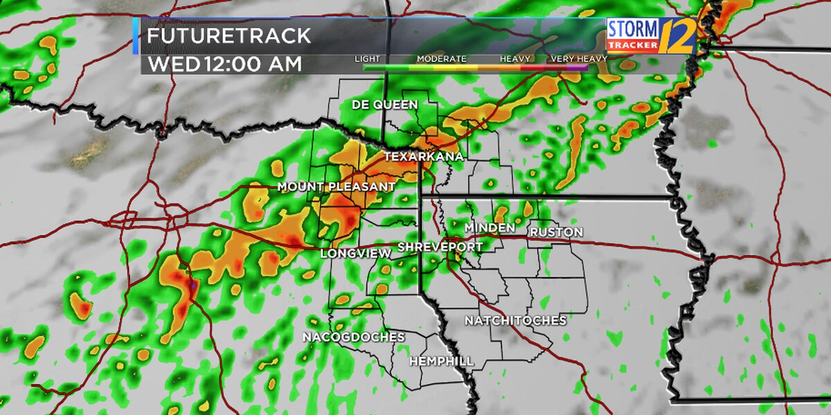 First Alert: Heavy rain and strong storms move in today