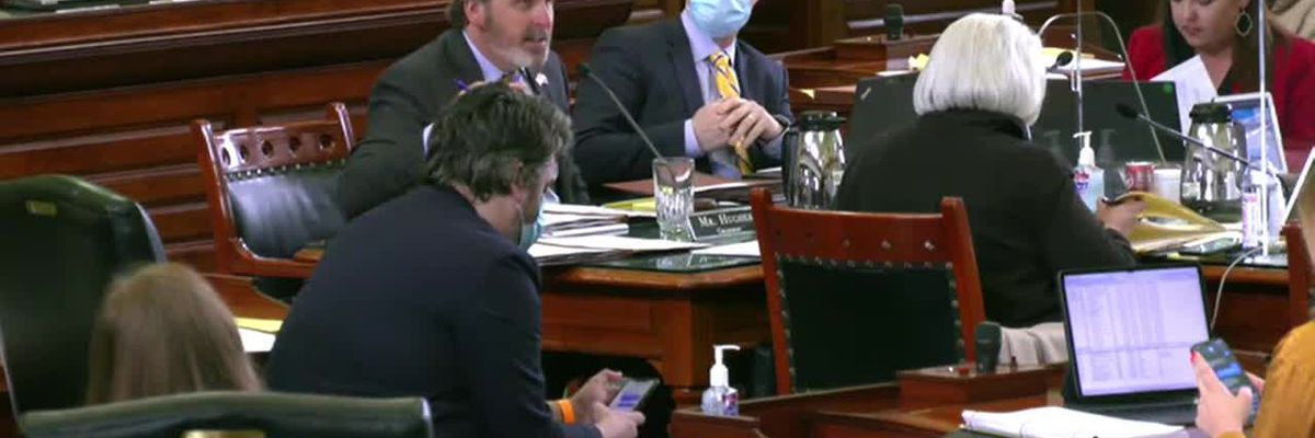 WATCH: Sen. Hughes lays out bill to remove racist language from deeds