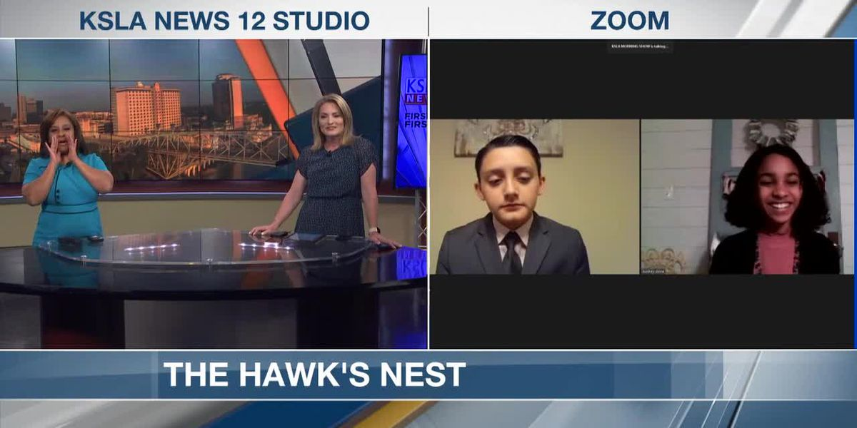 ZOOM INTERVIEW: Zwolle Elementary's The Hawk's Nest