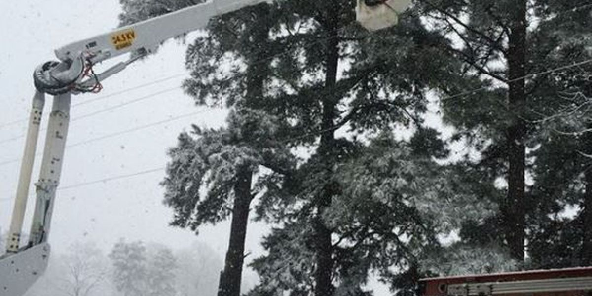 SWEPCO works to restore power during winter storm