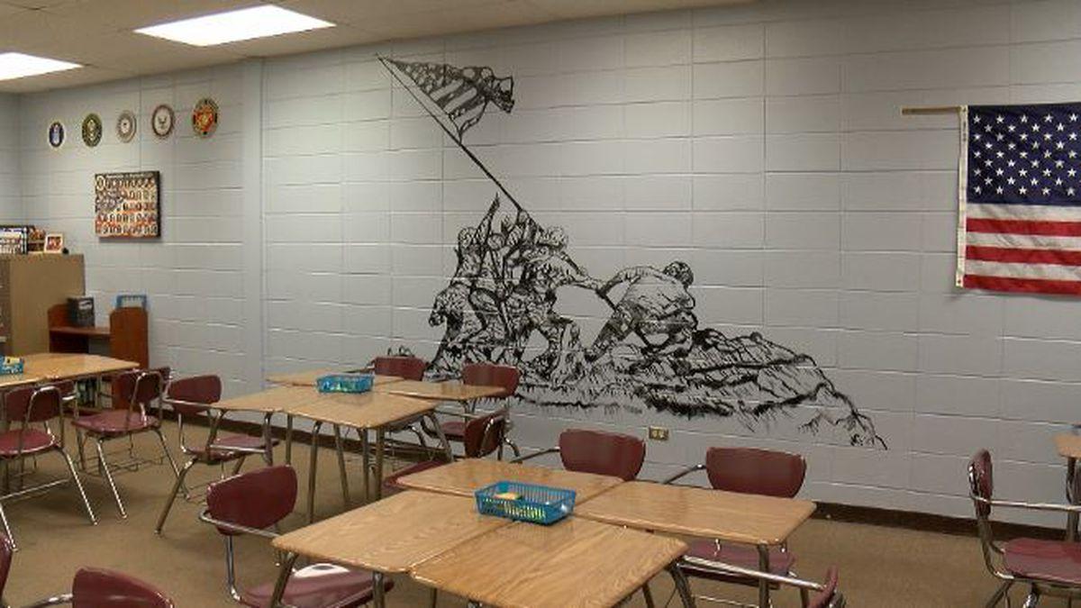 KSLA Salutes: NWLA art teacher creates historic mural inside school