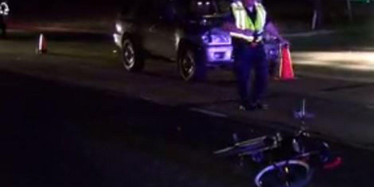 Man critically injured when bike collides with SUV
