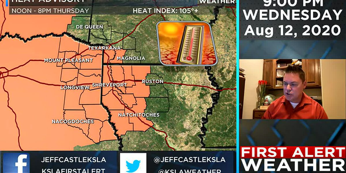 Jeff's Wednesday evening weather update