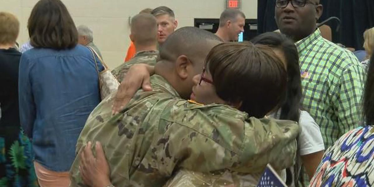 La. National Guard Soldiers deploy to Afghanistan