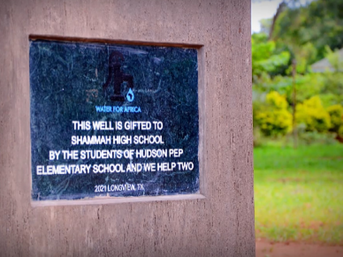 East Texas students raise money to create water well in Uganda