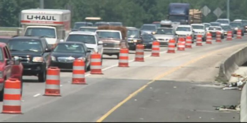 Part of eastbound I-20 closed for repairs tonight, Monday morning