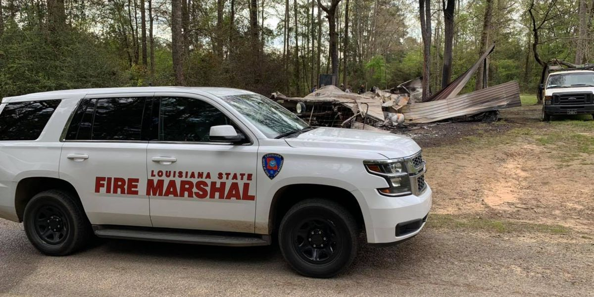 State Fire Marshal deputies investigating fatal fire in Webster Parish