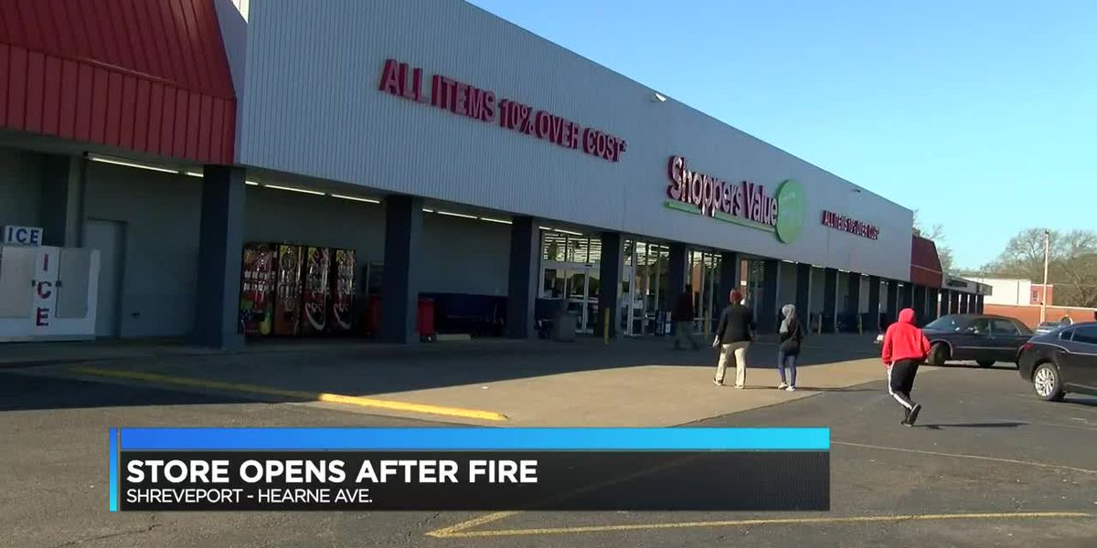 Grocery store fire happened inside storage building; cause of fire under investigation