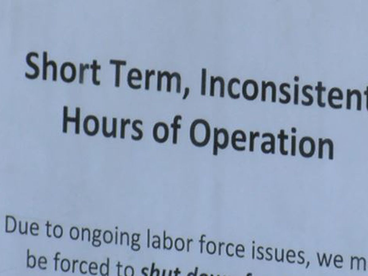 Businesses face staffing shortages as restrictions loosen; $1,000 bonus proposed to go back to work