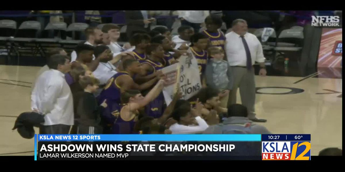 Ashdown wins first ever state championship