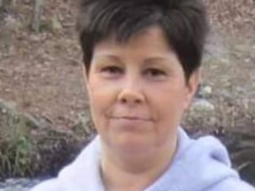 Missing woman's body found wrapped in chain in creek