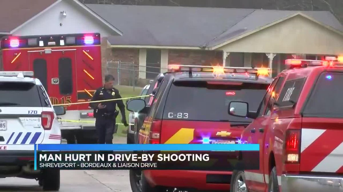 Man shot in foot during drive-by