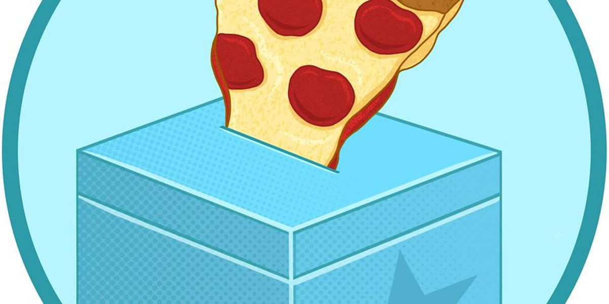 Pizza to the Polls delivers free pies to voters stuck in long lines