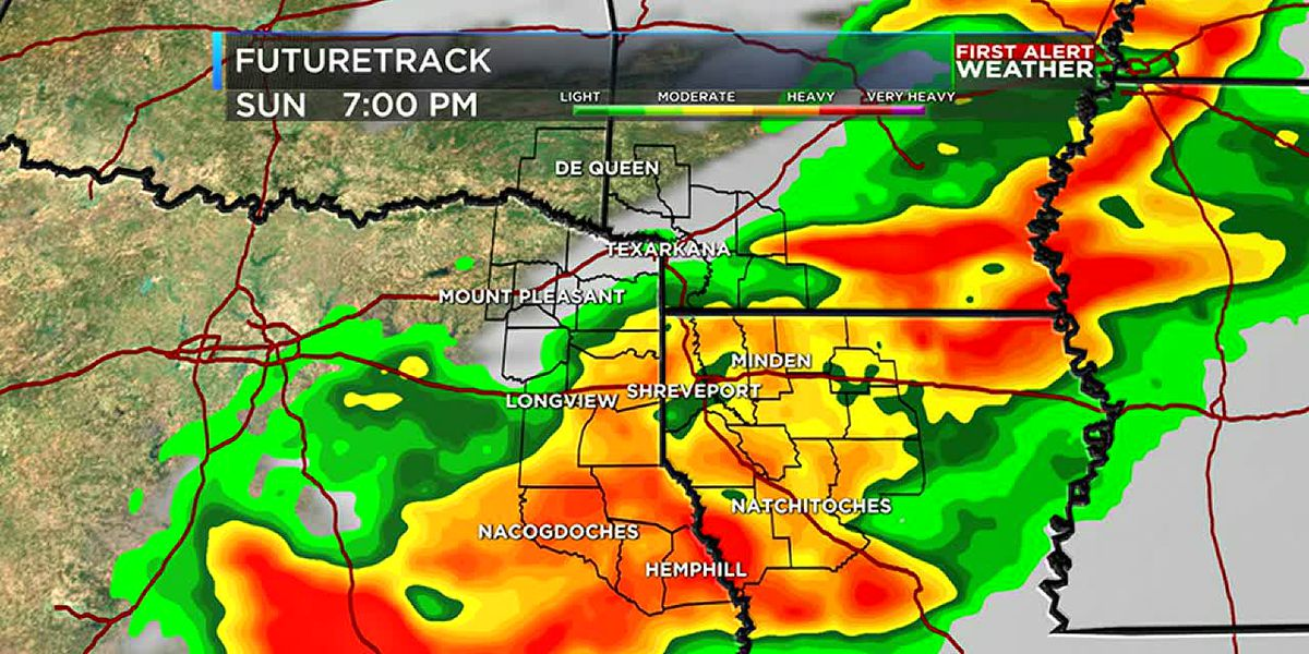 Sunny and dry now, but rain and storms back on Mother's Day