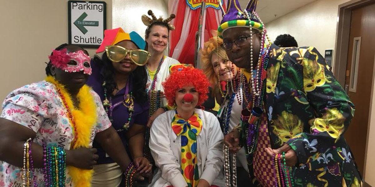 Mardi Gras fun rolls through Overton Brooks