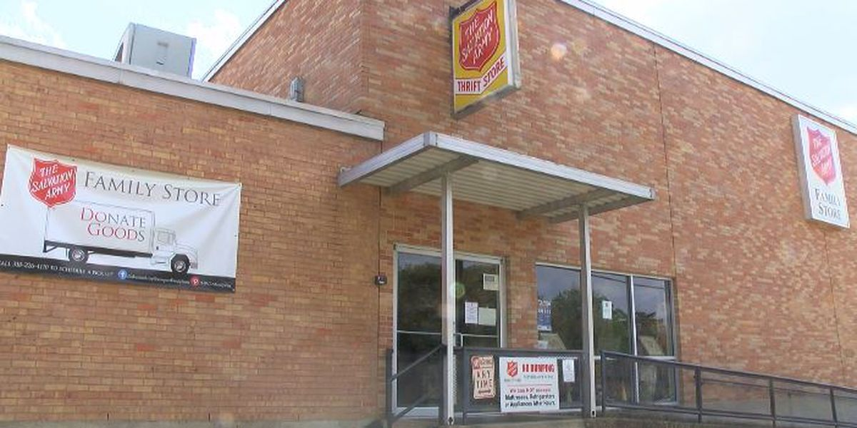 Salvation Army reopening thrift store for one-day sale Friday