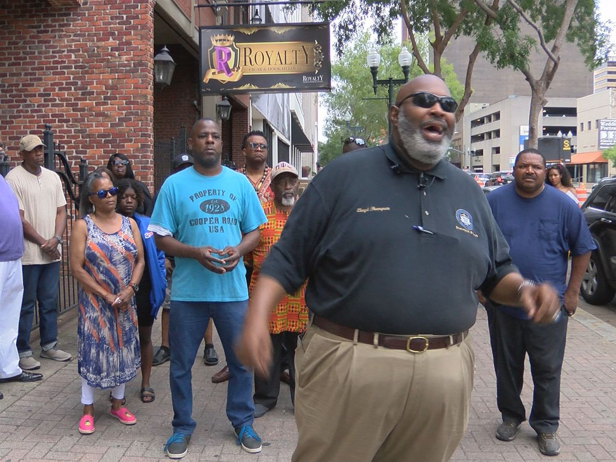Shreveport NAACP branch hosts rally to stop city violence