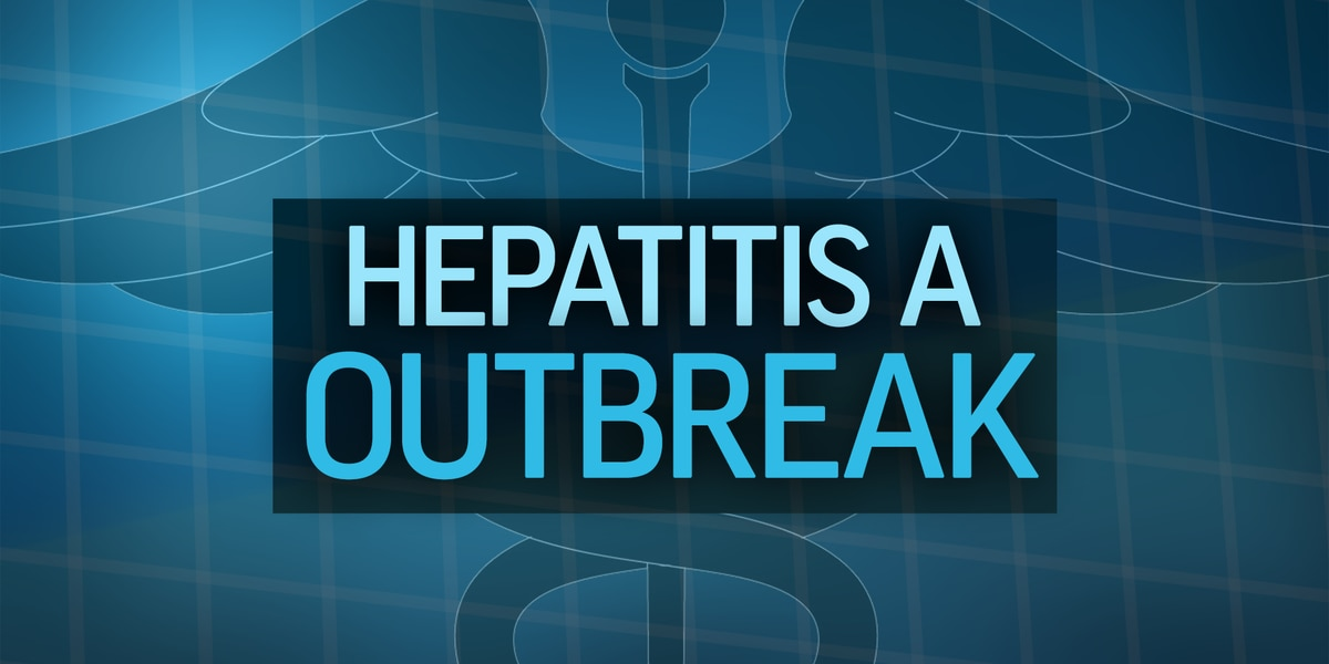 Over 630 cases of hepatitis A now reported in Louisiana outbreak, but numbers trending downwards