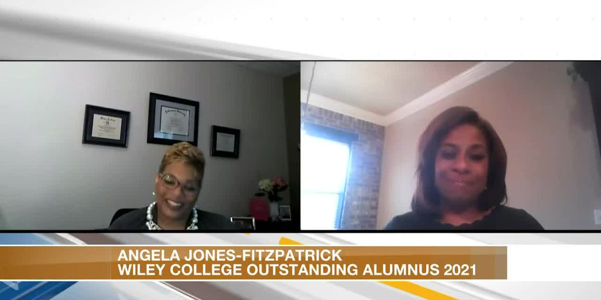 Angela Jones-Fitzpatrick honored by Wiley college