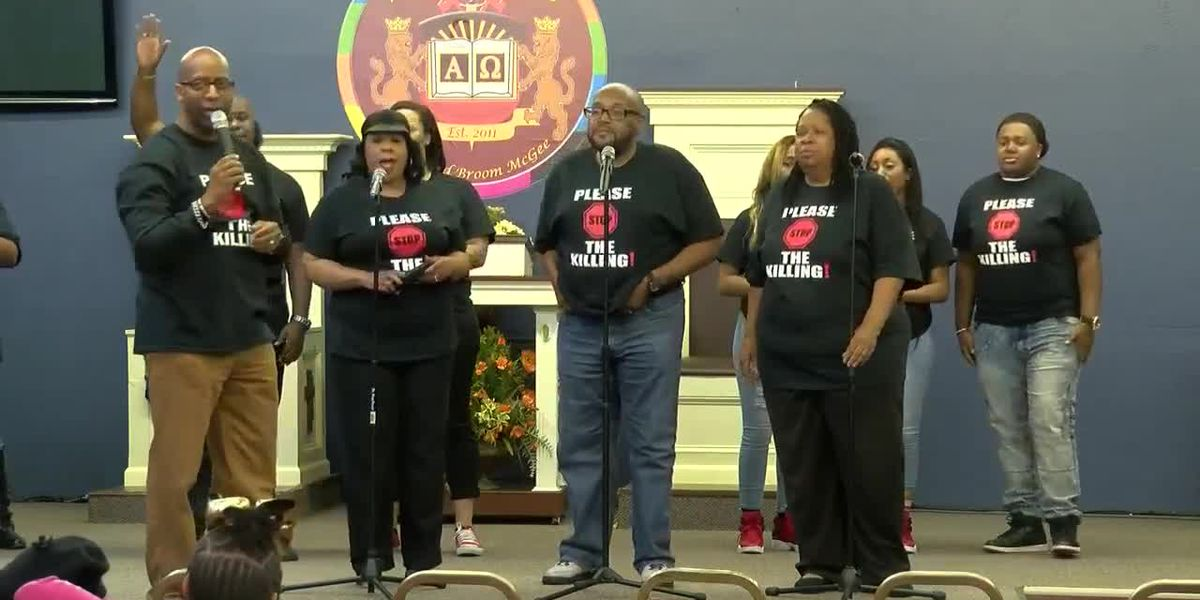 """Gospel group takes aim at violence with message """"Please Stop the Killing!"""""""