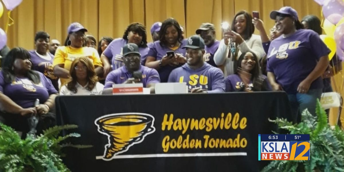 Haynesville's Joseph Evans signs with LSU