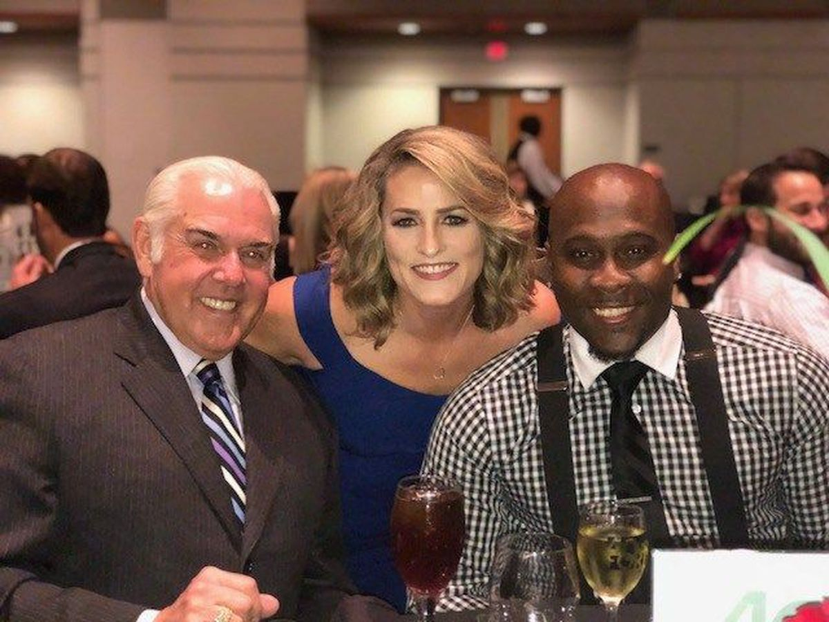 """KSLA News 12's Adria Goins honored during """""""
