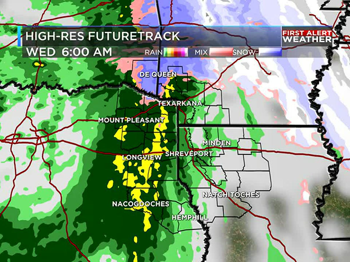 First Alert: Winter Weather Advisory in effect north of I-30