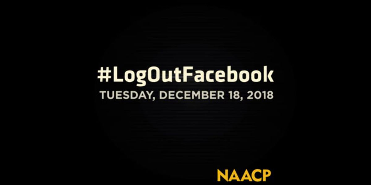 #LogOutFacebook: NAACP calls for Facebook, Instagram boycott Tuesday