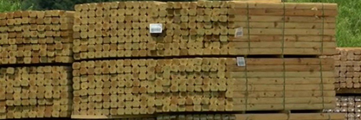 High lumber prices impacting Texarkana building industry