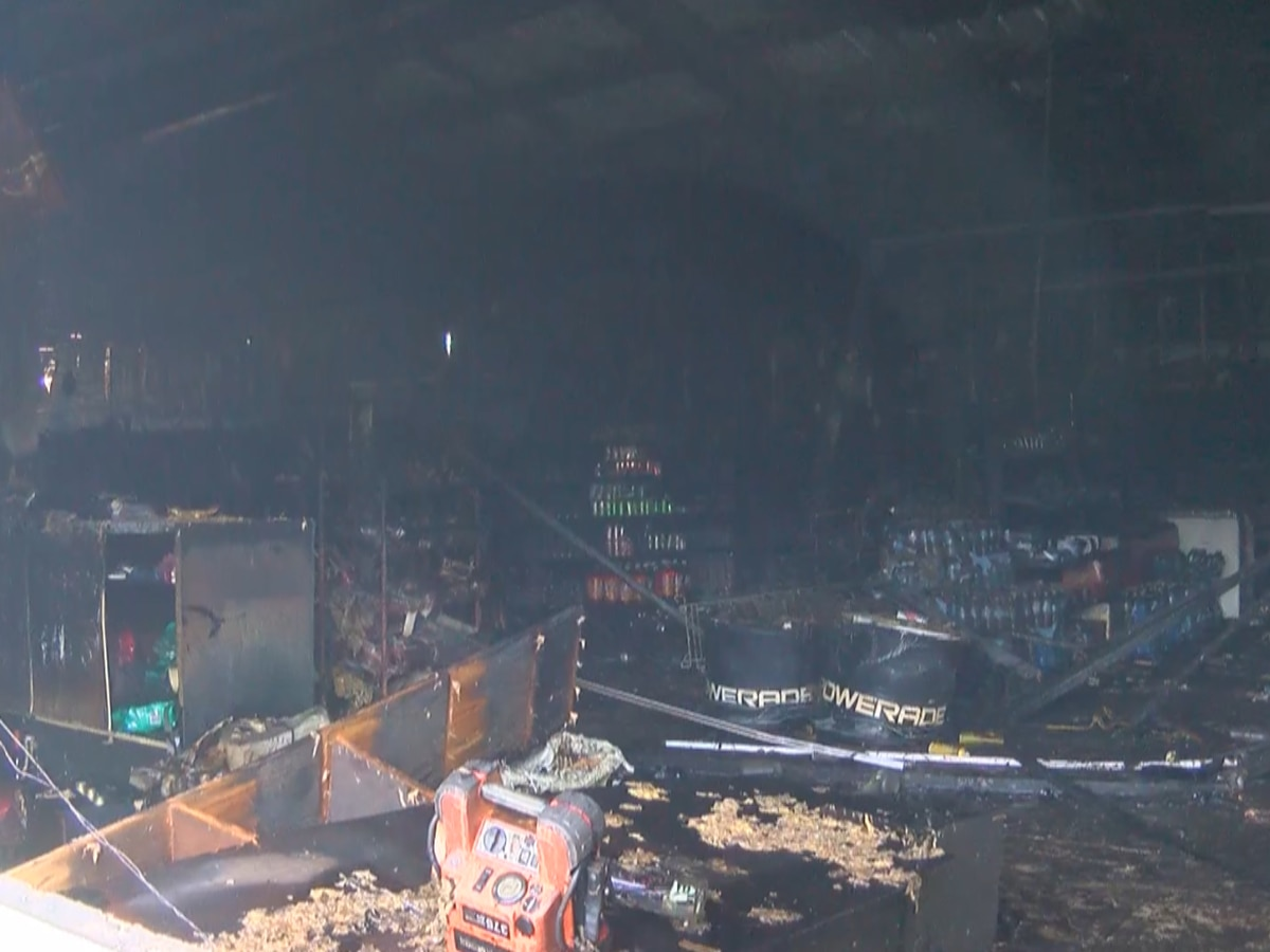 Flames destroy popular, family-owned grocery store