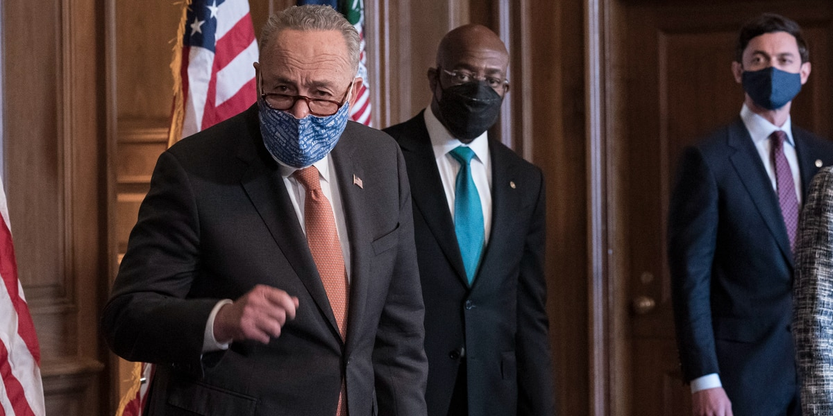 Democrats prep Biden's virus aid package with or without GOP