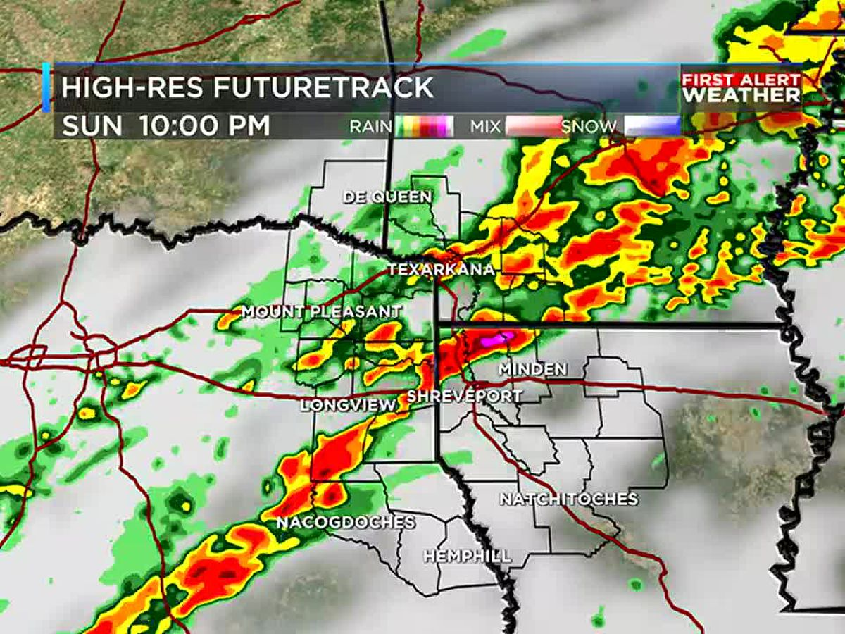 Cold front to bring rain and chance for strong to severe storms today