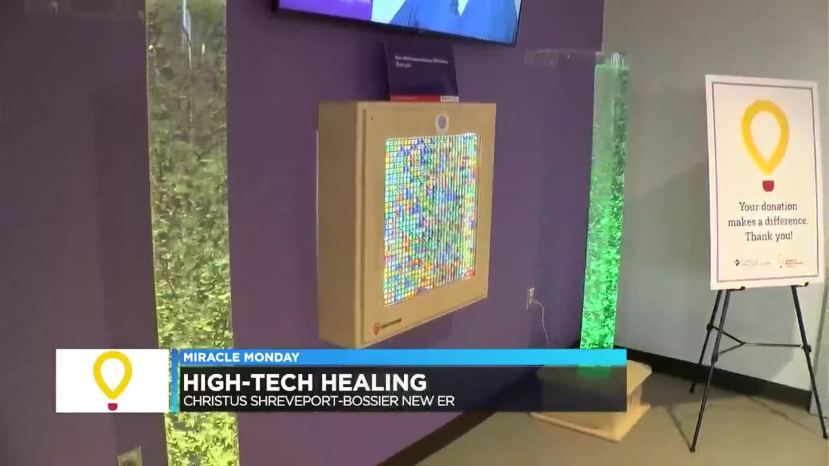 New ArkLaTex ER hopes high-tech healing calms its patients