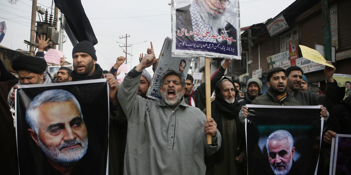 Iran vows to go after Americans who killed top general