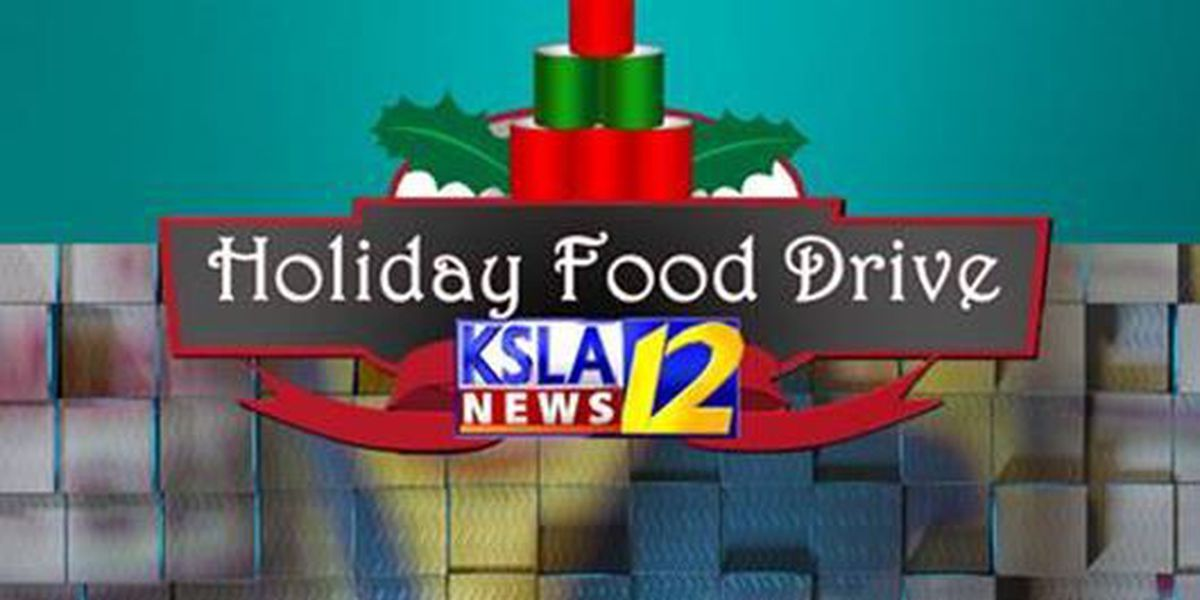 KSLA Holiday Food Drive brings in nearly 4 tons of donations