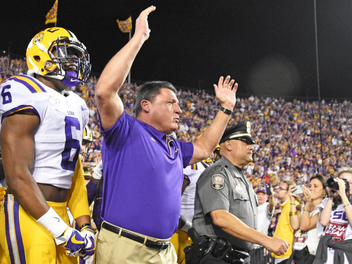 LSU Board of Supervisors approves 6-year, $42M contract for Ed Orgeron