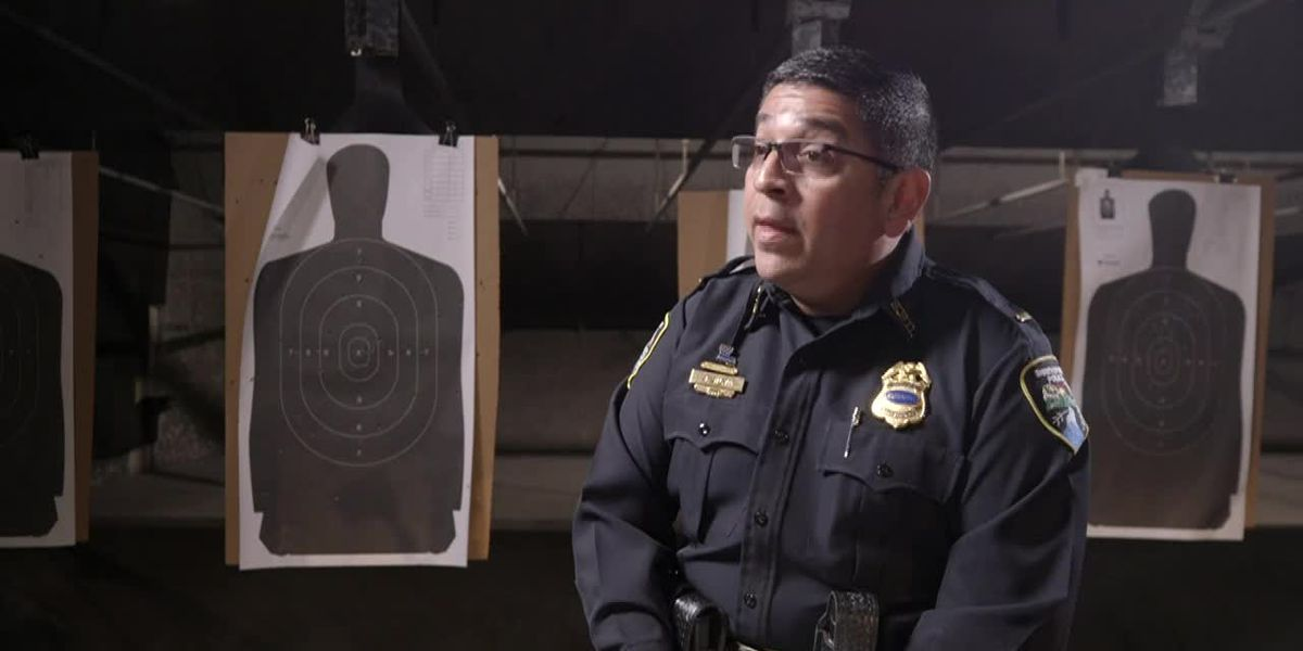 EXTENDED INTERVIEW: Lt. Jerry Silva, academy training director for the Shreveport Police Department