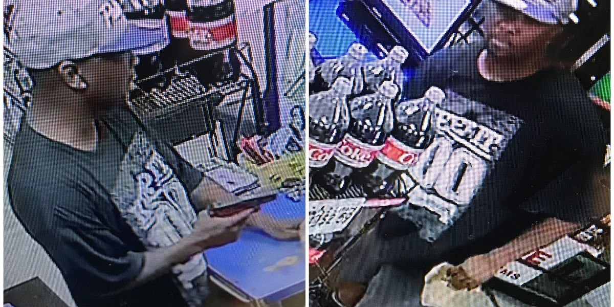 Male robs Chevron at gunpoint