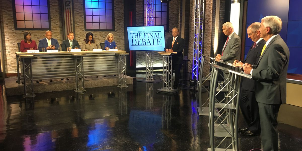Candidates for governor face off in The Final Debate on KSLA