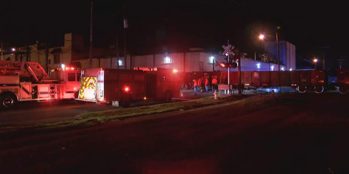 Man suffers life-threatening injuries after trying to crawl under a rail car, police say
