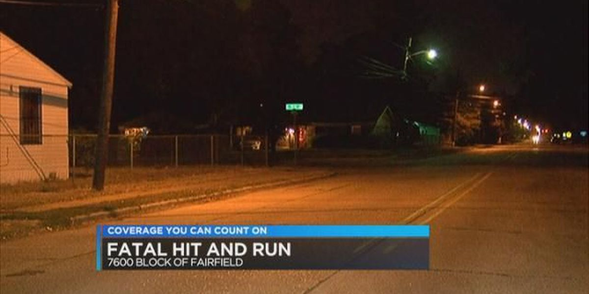 Police ID man killed in hit-and-run wreck in Shreveport