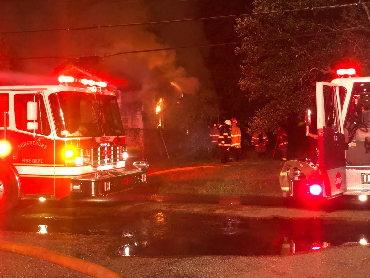 Firefighters battling blaze in Allendale neighborhood