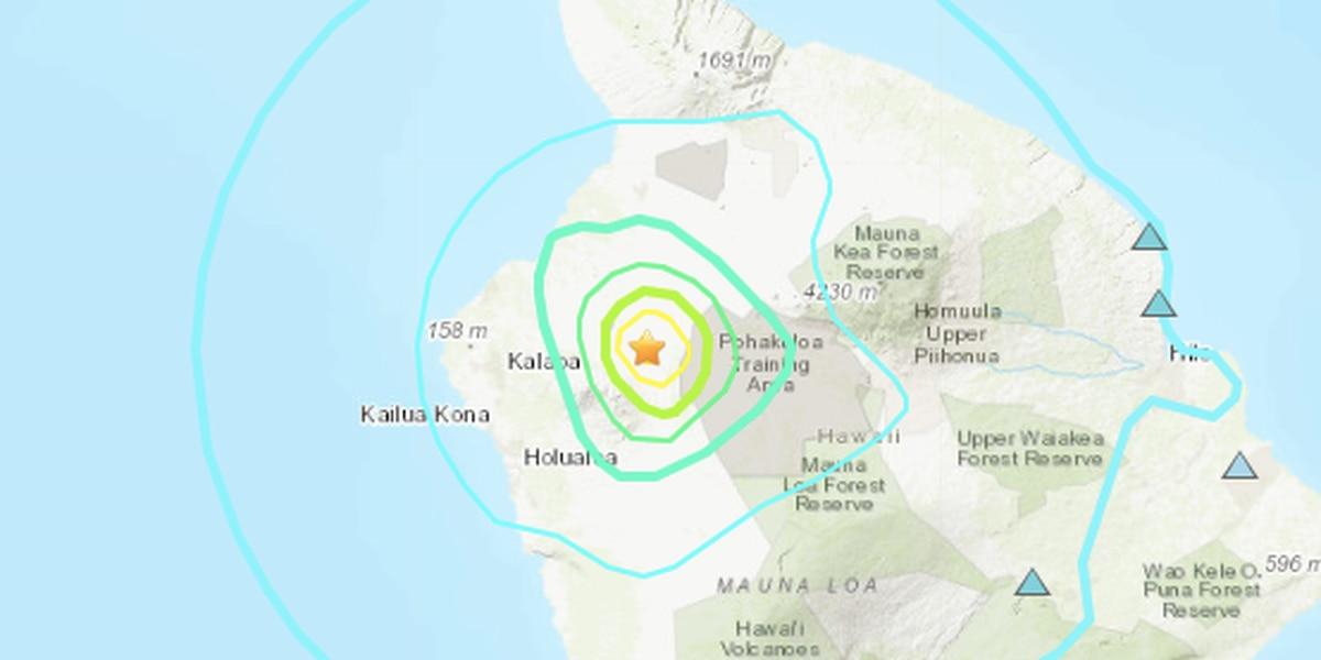 Power restored after 5.2-magnitude quake on Hawaii Island, rockfalls reported
