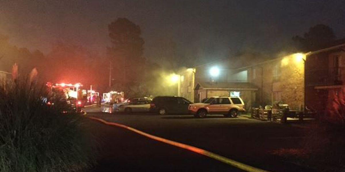 Apartment fire displaces 4 Shreveport families