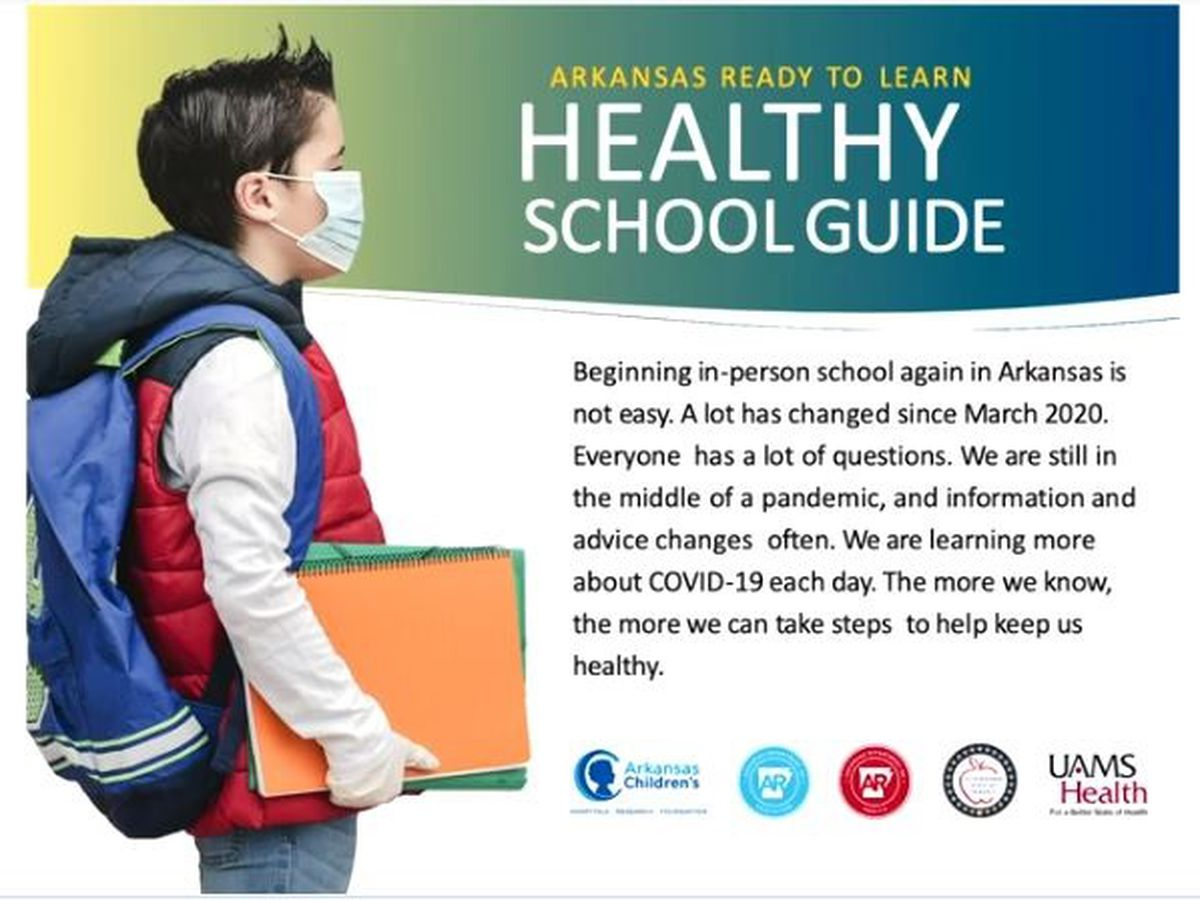 Health officials release new school guide as Ark. reports 652 new cases