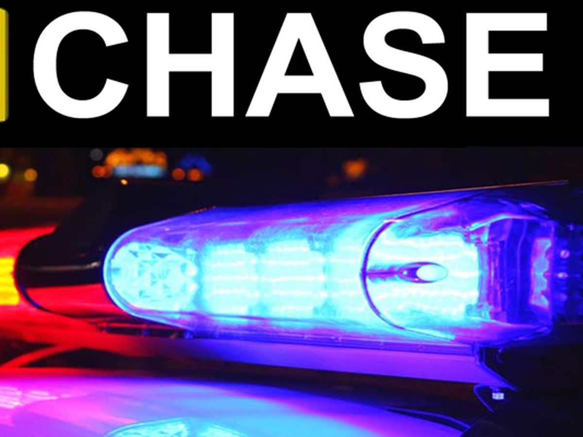 Chase involving Louisiana State Police ends in crash, arrest