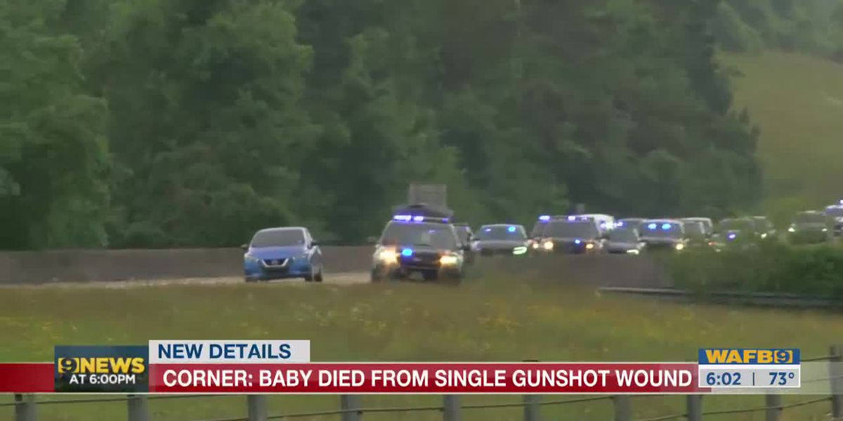 Coroner: Baby died from single gunshot wound; Several officers placed on leave pending investigation